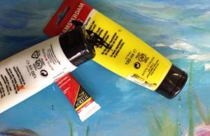 Acryl verf schilderen workshop